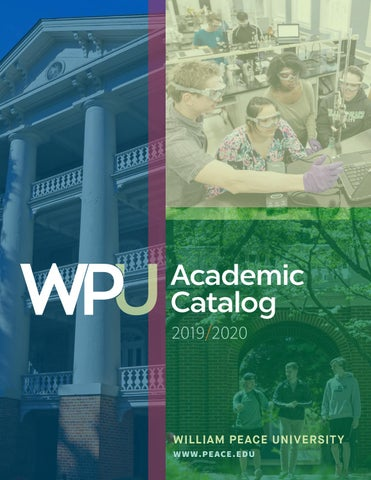 On Twitter Soliciting For Ideas And Screenplays 2020 2019   2020 Academic Catalog by William Peace University   issuu