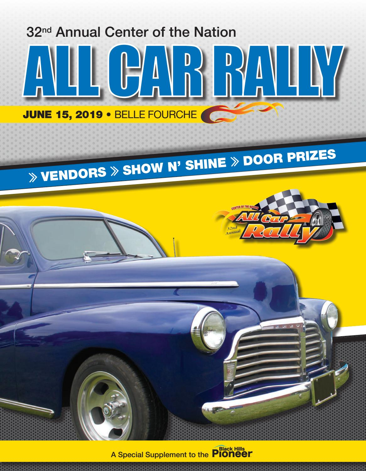 All Car Rally 2019 by Black Hills Pioneer - issuu