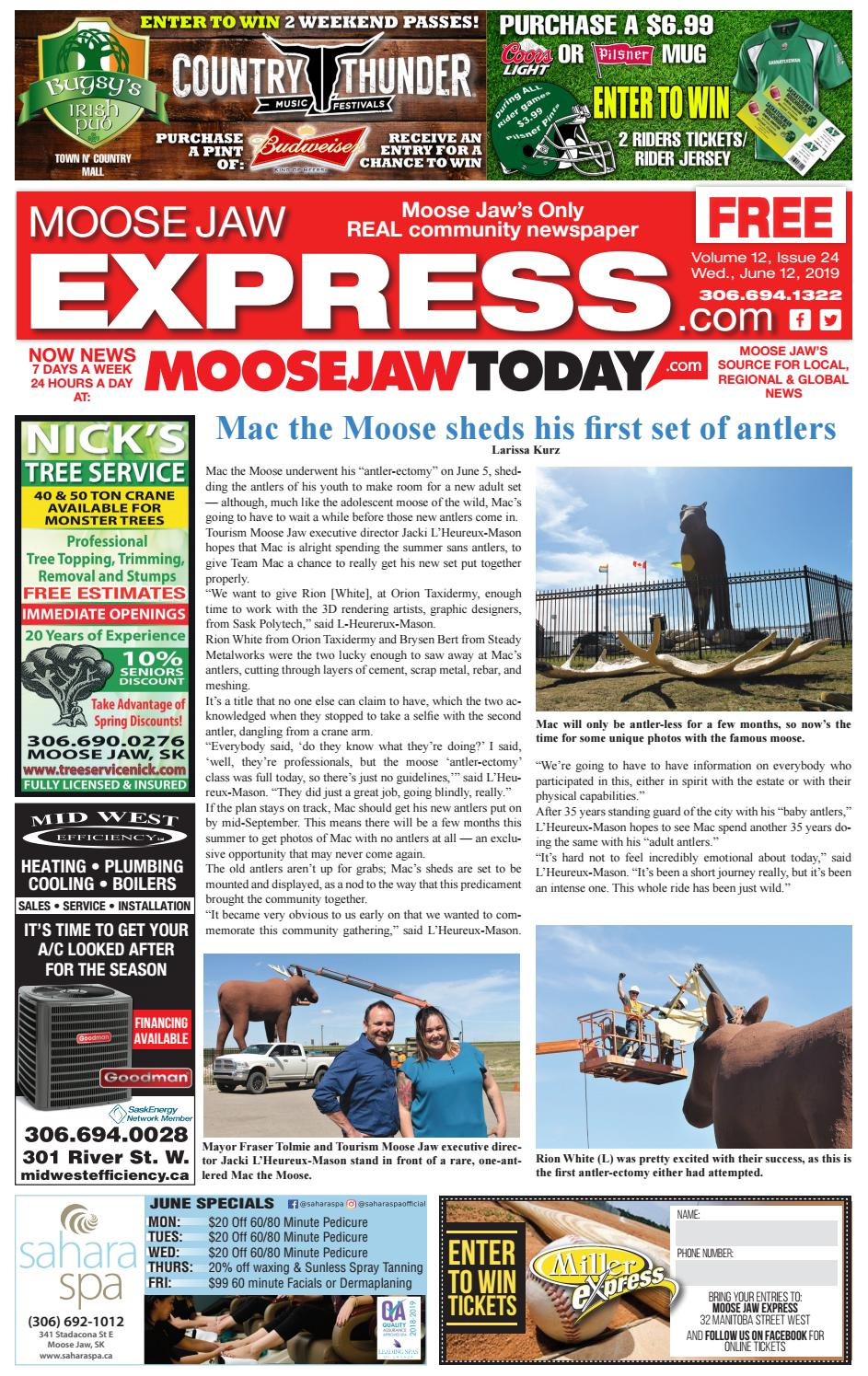 b4998de45a Moose Jaw Express by Moose Jaw Express - issuu