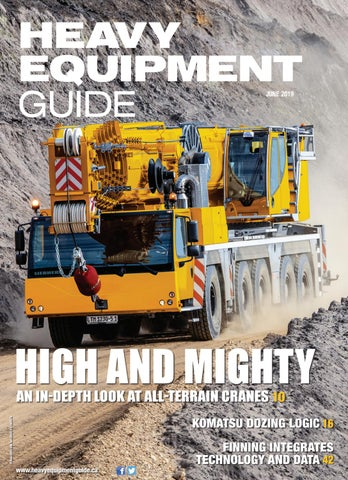 Heavy Equipment Guide June 2019, Volume 34, Number 6 by Baum