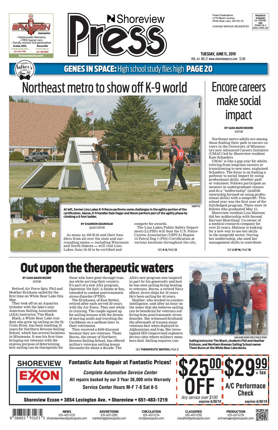 Shoreview Press by Press Publications - issuu