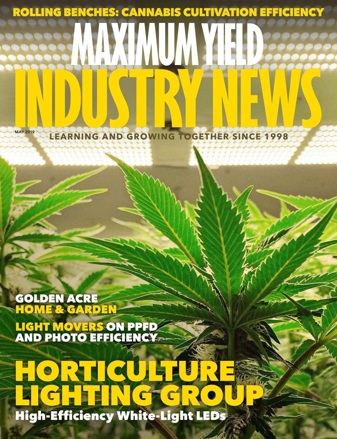 Maximum Yield's Industry News   Vol  18 Issue 05 2019 by