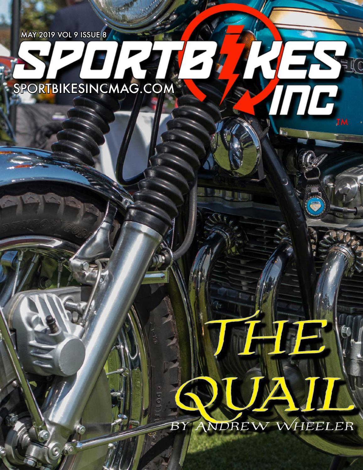 SportBikes Inc Magazine May 2019 by Hard Knocks Motorcycle
