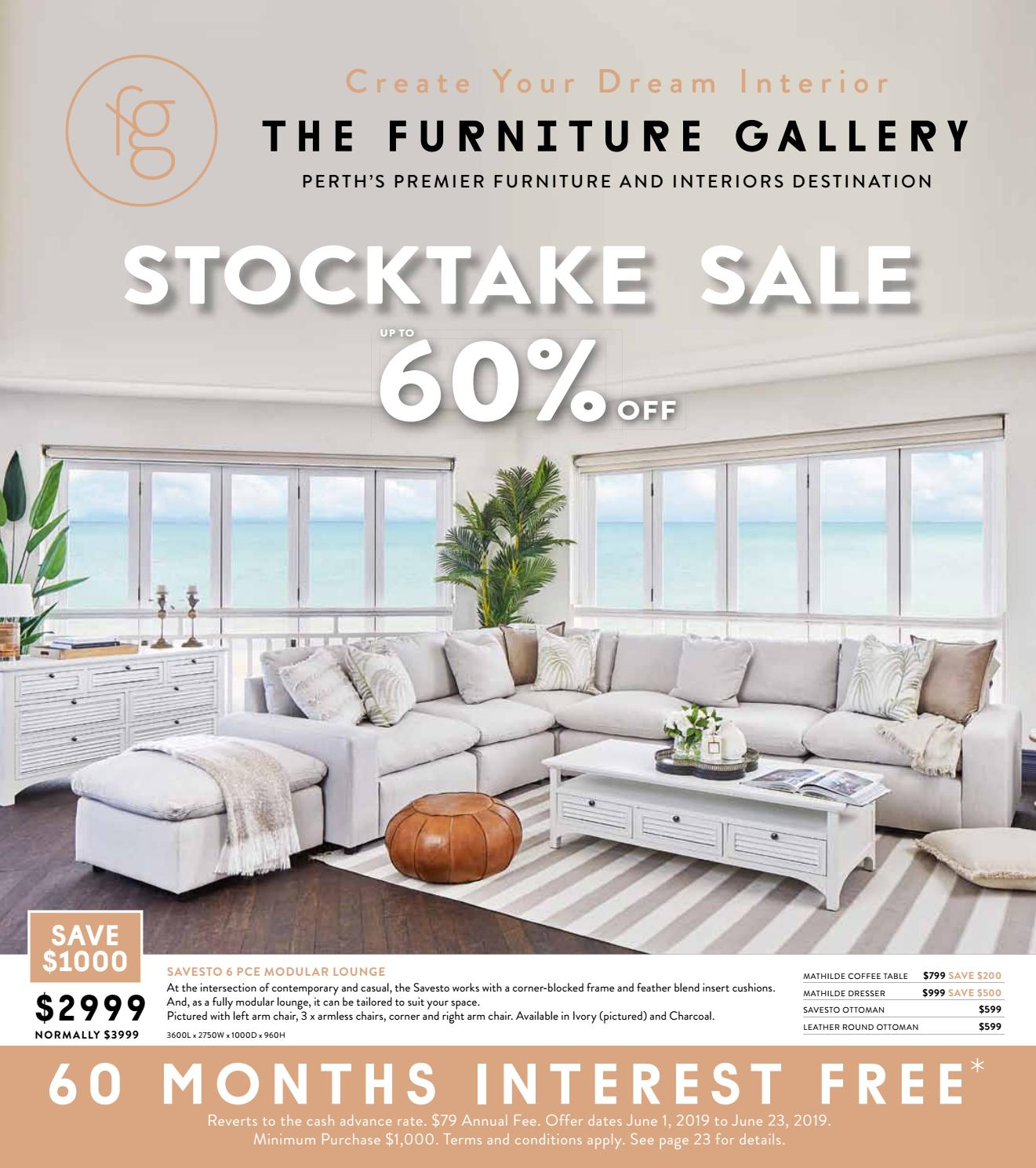 THE FURNITURE GALLERY STOCKTAKE SALE by thefurnituregallery - issuu