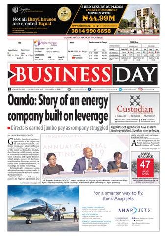 BusinessDay 11 Jun 2019 by BusinessDay - issuu