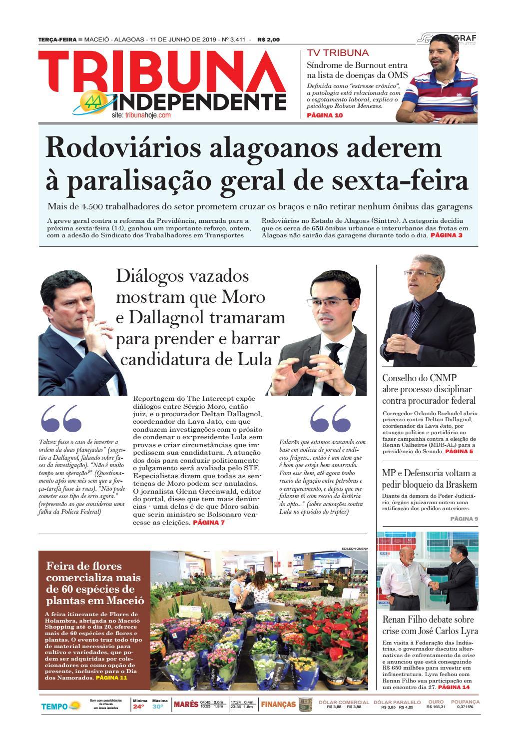774d3329c Edição número 3411 - 11 de junho de 2019 by Tribuna Hoje - issuu