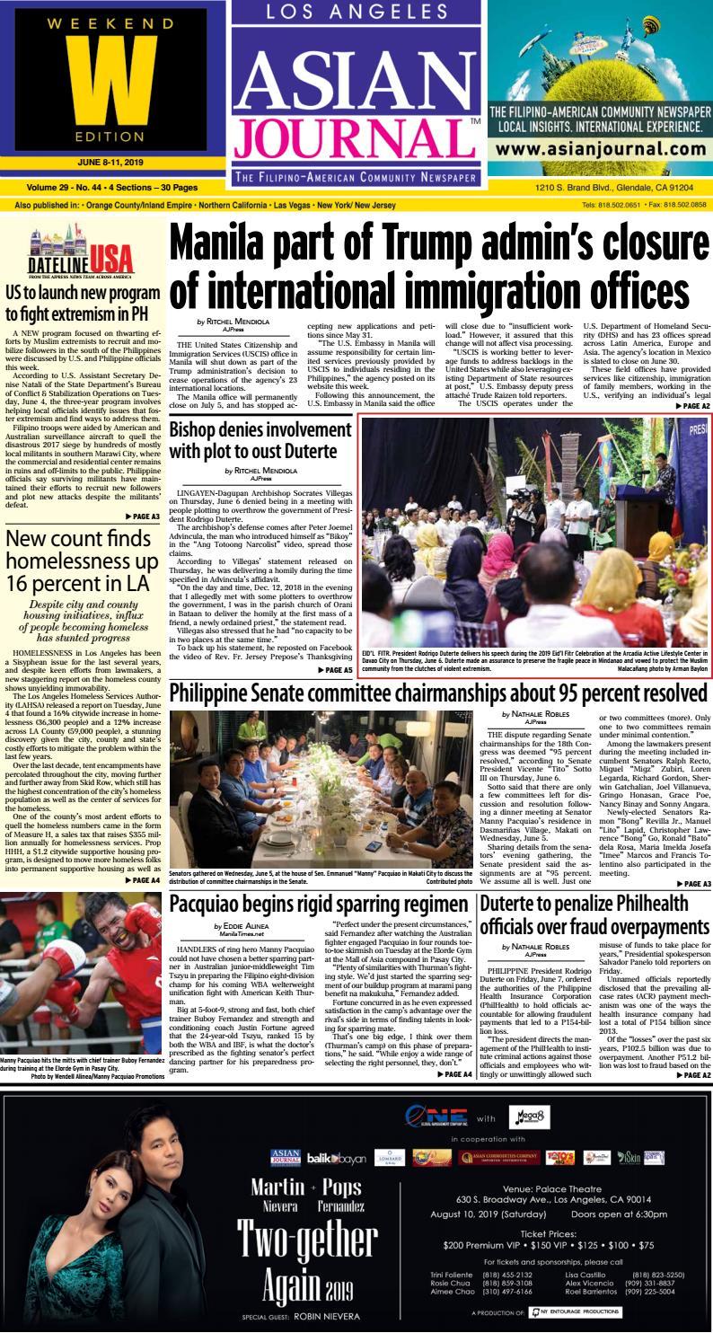 060819 - Los Angeles Weekend by Asian Journal Community Newspapers