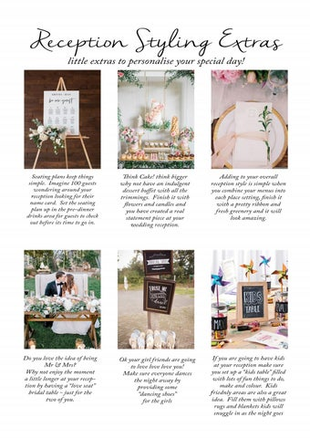 Page 42 of Amazing Reception Styling Extras