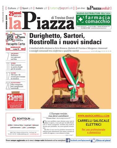 Il Tuo Quartiere Non E Una Discarica Calendario 2020 Municipi Dispari.Treviso Ovest Giu2019 N96 By Lapiazza Give Emotions Issuu