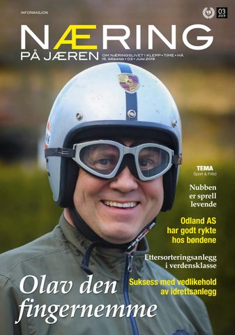 a1e3cd2c Næring på Jæren 3-2019 by Lokomotiv Media - issuu