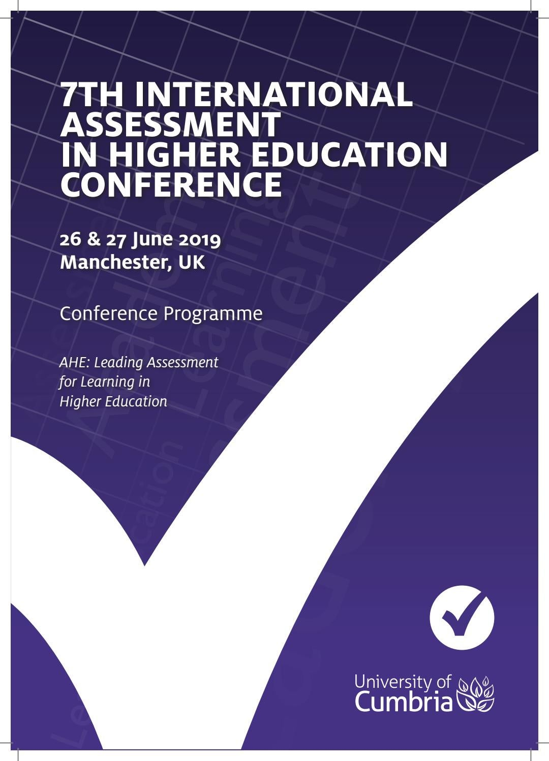 7th International Assessment in Higher Education Conference