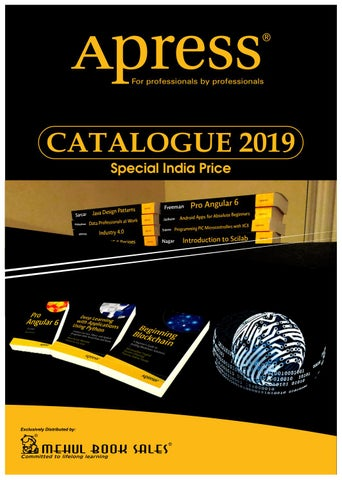3adf126e0 APRESS -INDIA SPECIAL PRICE CATALOG 2019 by Madhu Pillai - issuu