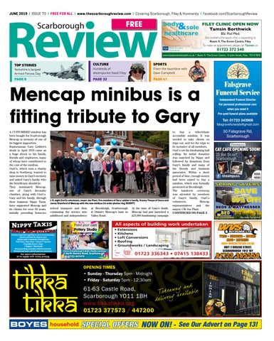 Scarborough Review - June 2019 by Your Local Link Ltd - issuu