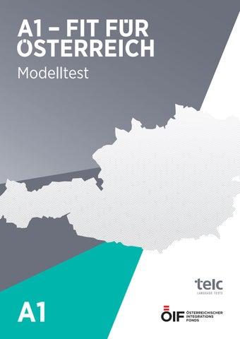 A1 öif Modelltest By österreichischer Integrationsfonds Issuu