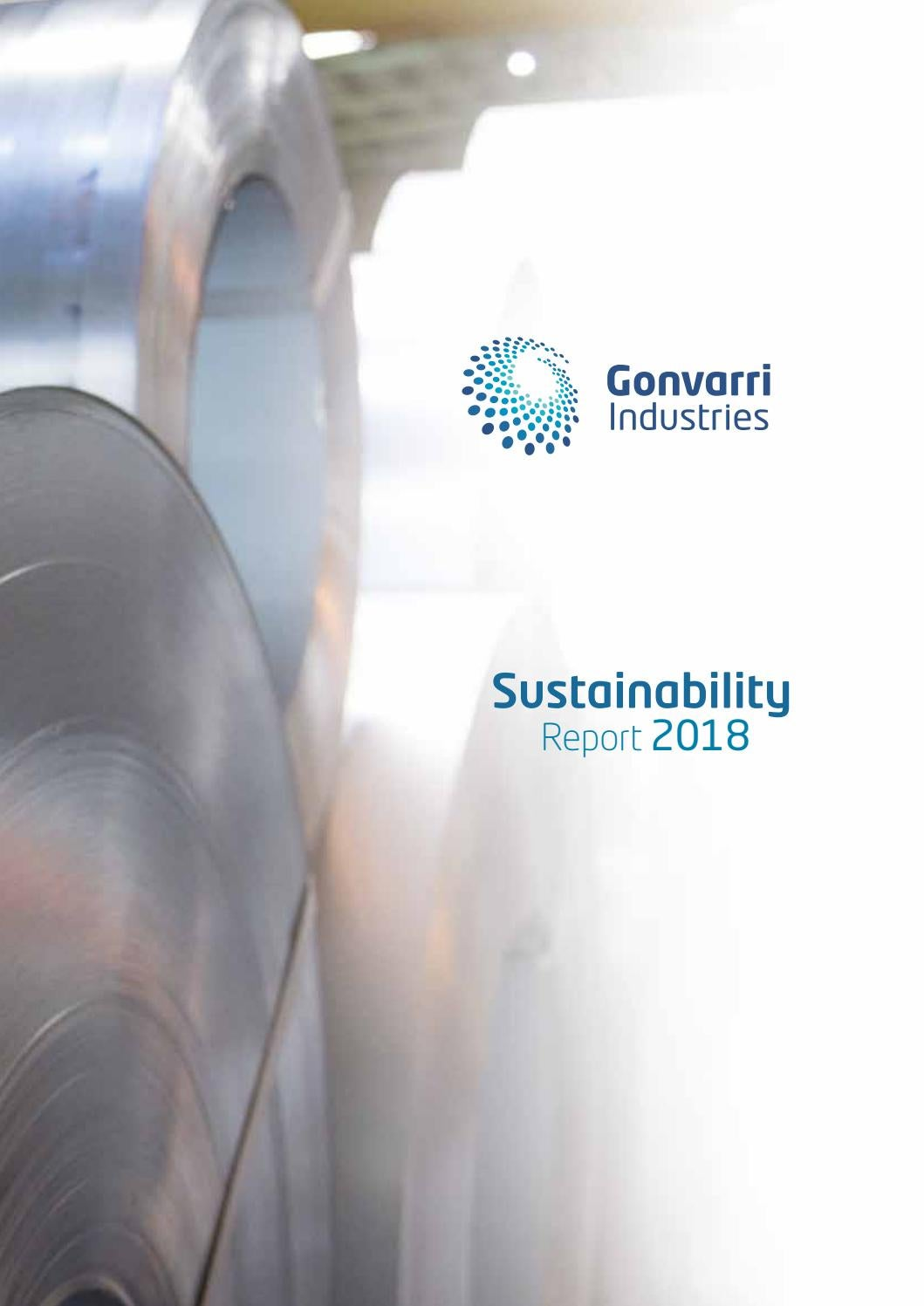Gonvarri Industries - Sustainability Report 2018 by