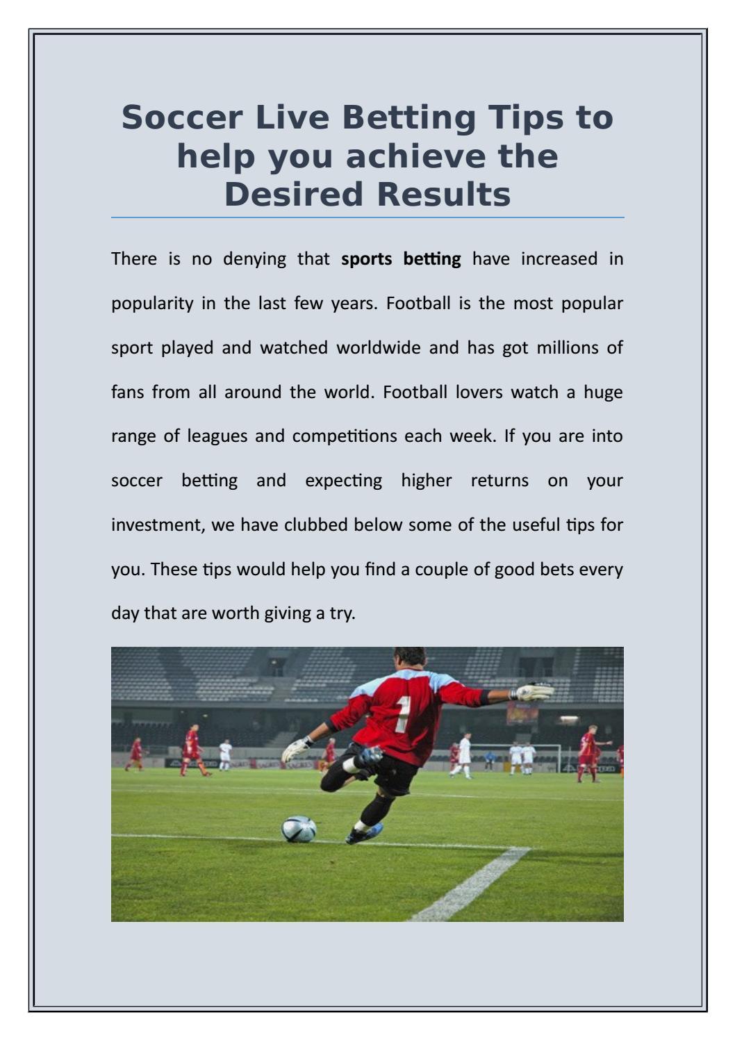 Betting world soccer tips new betting account bonus