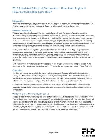 2019 Heavy Civil Problem Statement by ASC Region 3 - issuu
