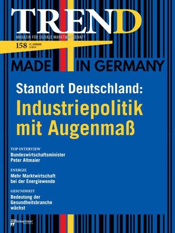 43dc20e2da31d TREND - Magazin für Soziale Marktwirtschaft - Ausgabe 2/2019 by ...