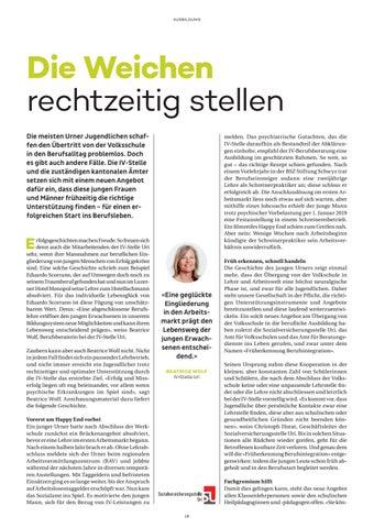 Page 18 of image 30 – SVSUri – Die Weichen Rechtzeitig stellen