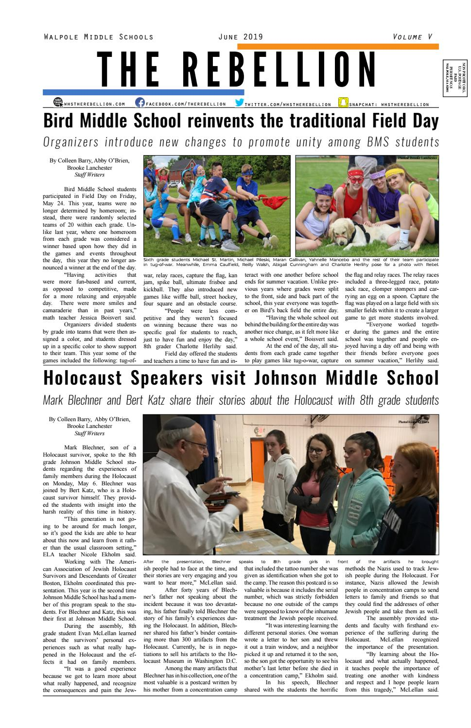 Click HERE to view work designed by Newspaper Class