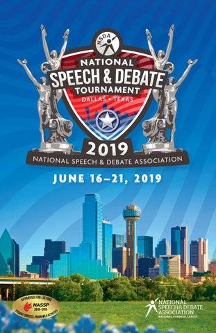 2019 Tournament Book by Speech & Debate - issuu