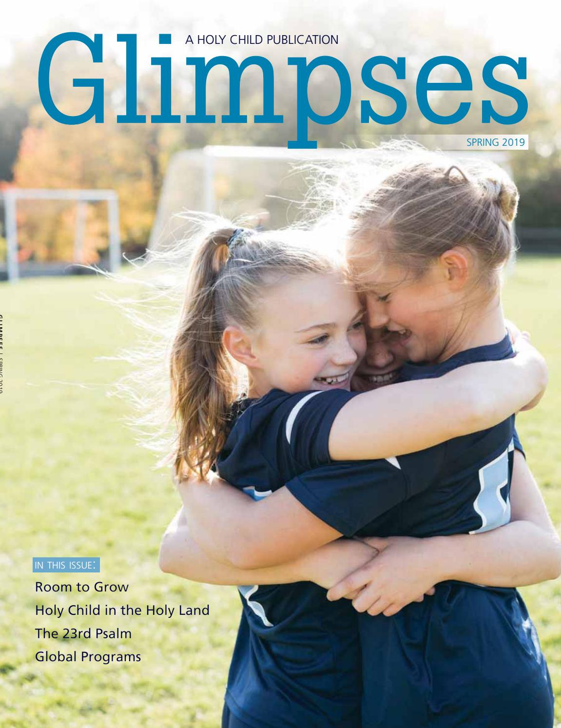 Allison Munns holy child glimpses 2019school of the holy child - issuu