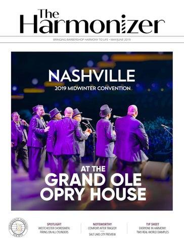 The Harmonizer, May/June 2019 by The Harmonizer - issuu