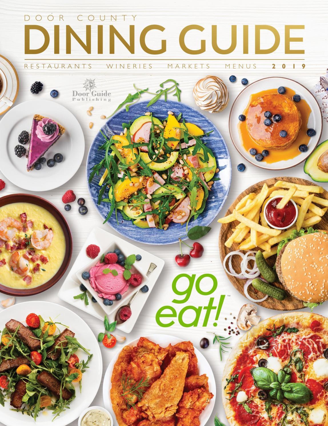 Angela Dip Nua 2019 door county dining guidedoor guide publishing - issuu