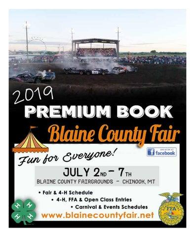 Lewistown Fair 2020.Blaine County Fair Premium Book 2019 By Tricia S Trader Issuu