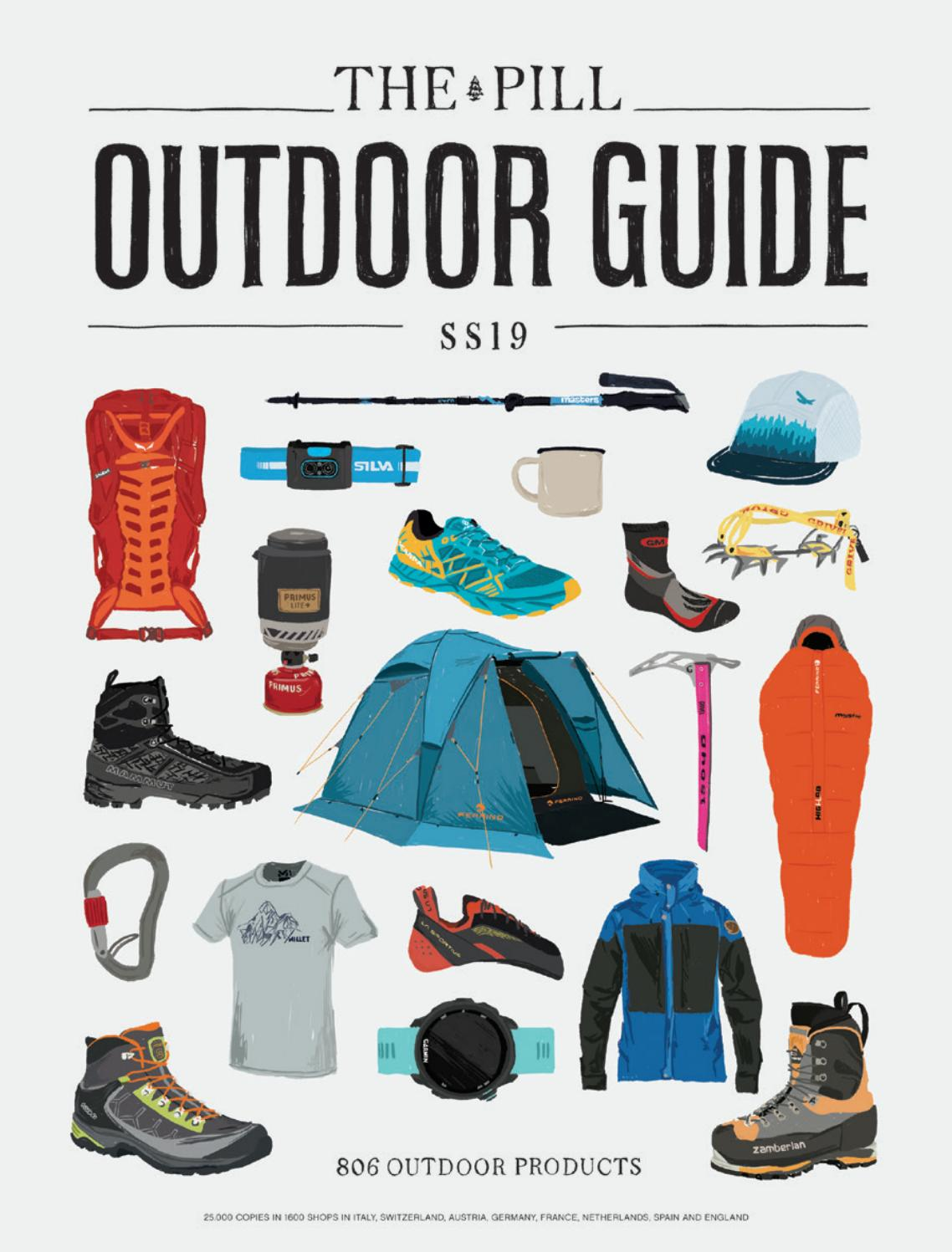 780f0efbaccd8 The Pill Outdoor Guide SS19 En by Hand Communication - issuu