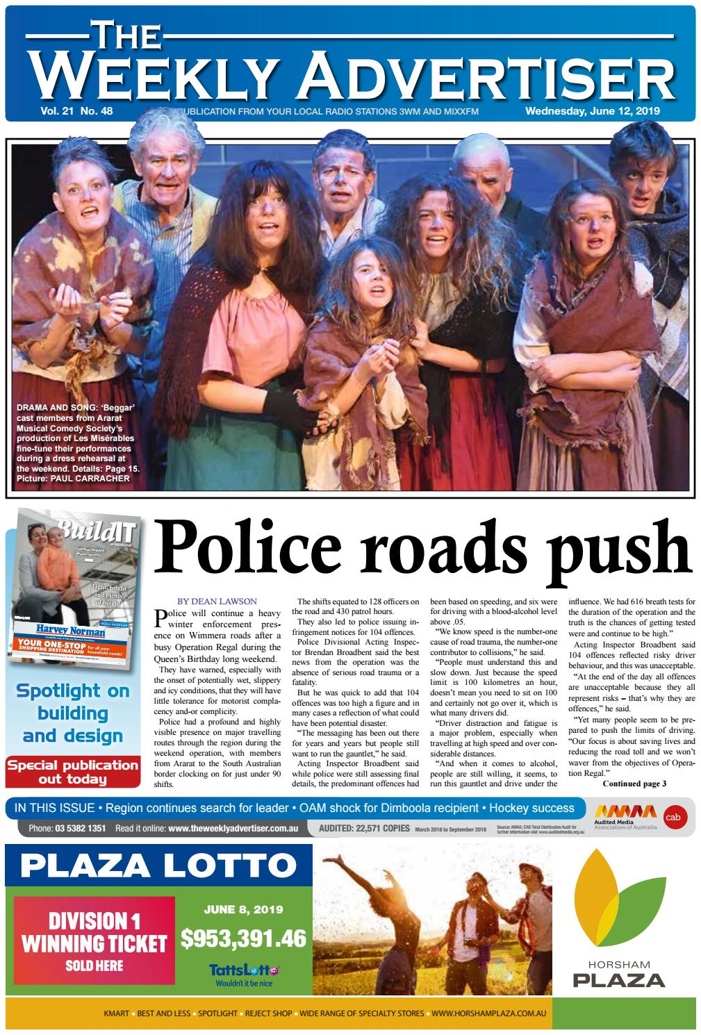 The Weekly Advertiser - Wednesday, June 12, 2019 by The
