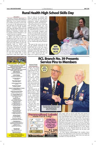 Page 32 of RCL Branch No. 39 Presents Service Pins to Members