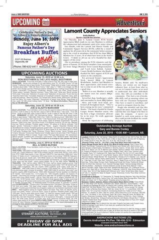 Page 8 of Lamont County Appreciates Seniors
