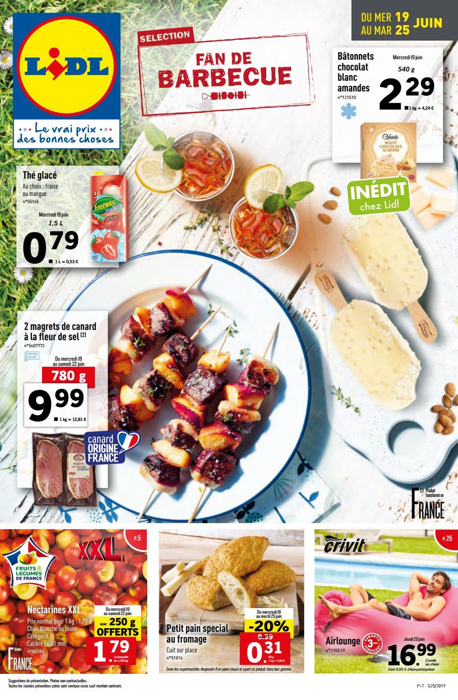 Catalogue Lidl Du 19 Au 25 Juin 2019 By Monsieurechantillons