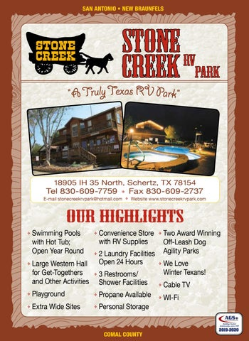 Stone Creek RV Park by AGS/Texas Advertising - issuu