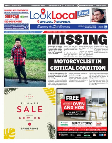 Issue 1031 Thursday 18 October 2018 by Look Local Newspaper - issuu