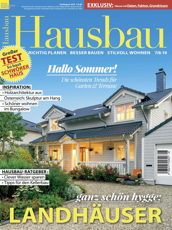 Hausbau 7 8 2019 By Fachschriften Verlag Issuu
