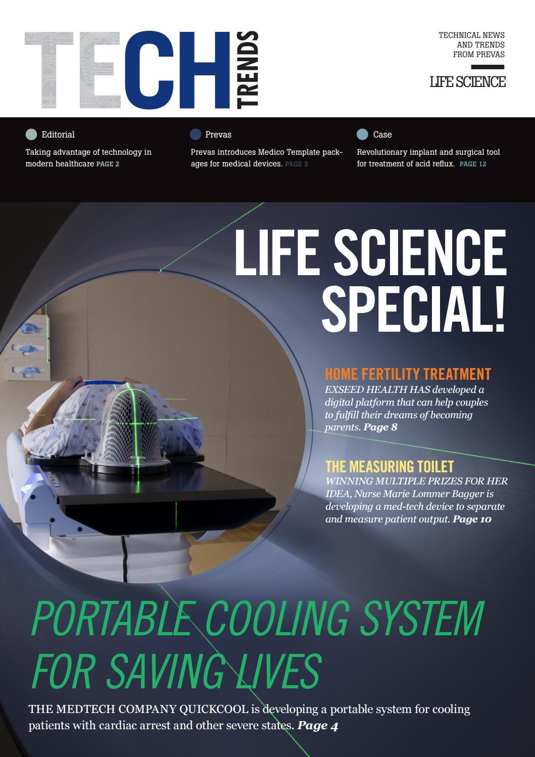 Prevas customer magazine, Tech Trends Life Science, 2019 by