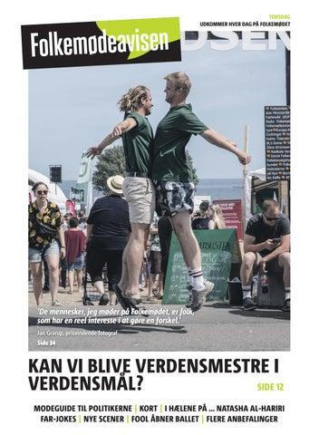 bc905220a46 Folkemødeavisen 2019 - torsdag by Kommunen - issuu