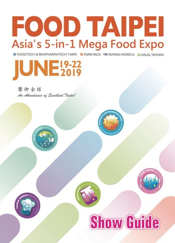 68a06cd6db 2019 FOOD TAIPEI SHOW GUIDE by juneotin - issuu