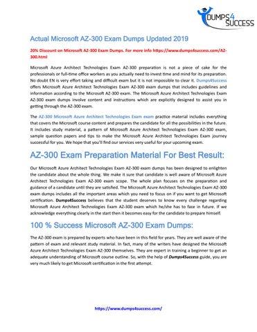 Real Microsoft AZ-300 Cheat Sheet Exam Dumps by r onaldoa