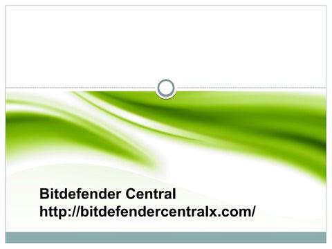 Bitdefender Central by bitdefendercentral7 - issuu
