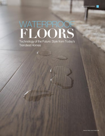 Page 45 of Waterproof Floors: Technology of the Future, Style from Today's Trendiest Homes