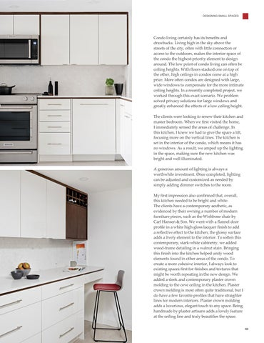Page 65 of Enhancing Small Spaces Through Elevated Design