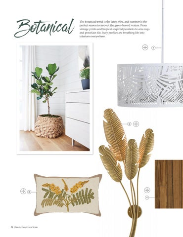 Page 72 of Top Interior Design Trends: Botanicals; Maximalism; Texture