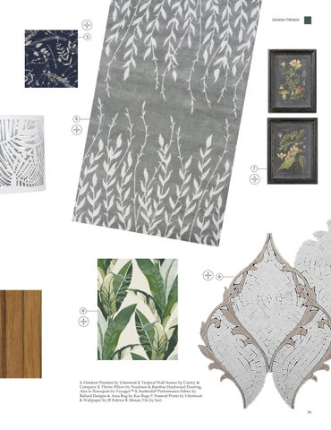 Page 73 of Top Interior Design Trends: Botanicals; Maximalism; Texture