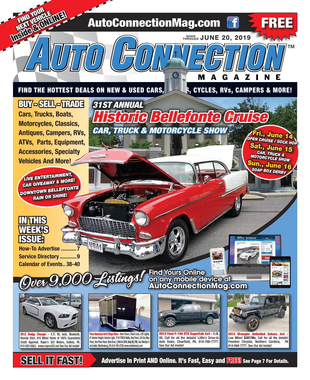 06-20-19 Auto Connection Magazine by Auto Locator and Auto