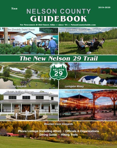 nelson county guidebook 2019 2020 by andrew osborne issuunelson county guidebook 2019 2020