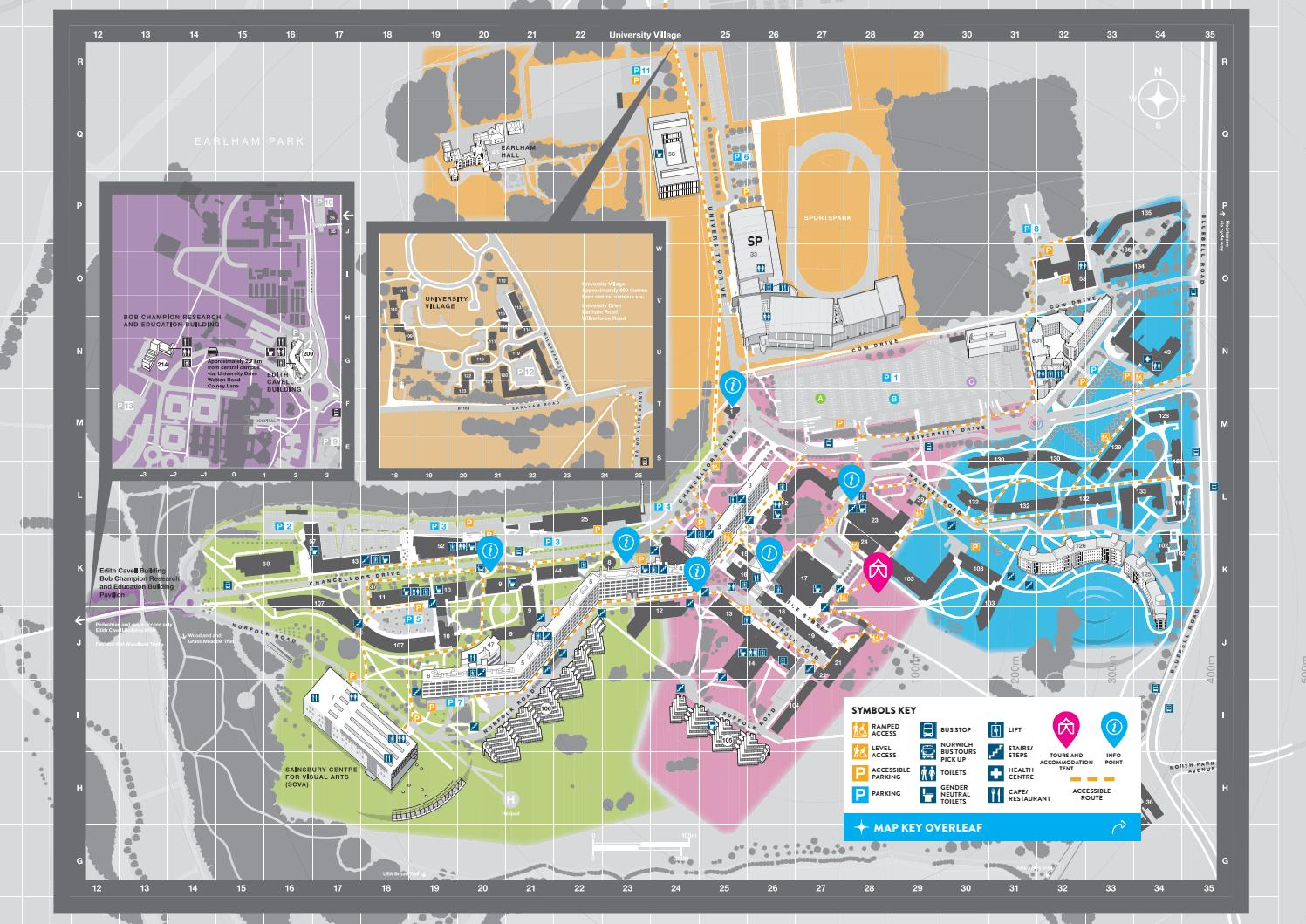 uea map of campus Open Day Programme 2019 Map By University Of East Anglia Issuu uea map of campus