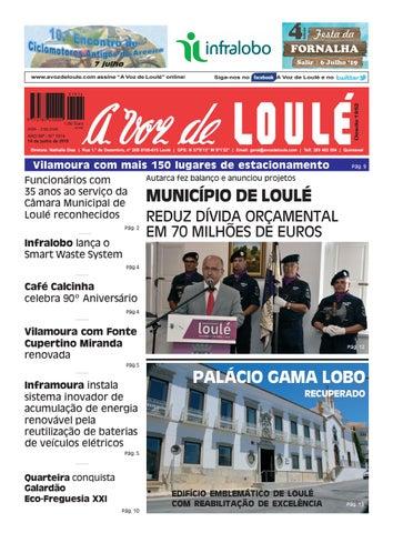 e606f65ba4c80f A Voz de Loulé Edição 1914 14 de junho 2019 by A Voz de Loulé - issuu